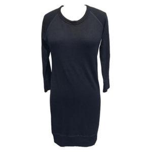 Sundry 3/4 Sleeve French Terry Dress